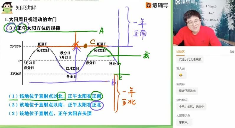 2020崔亚飞地理 视频截图