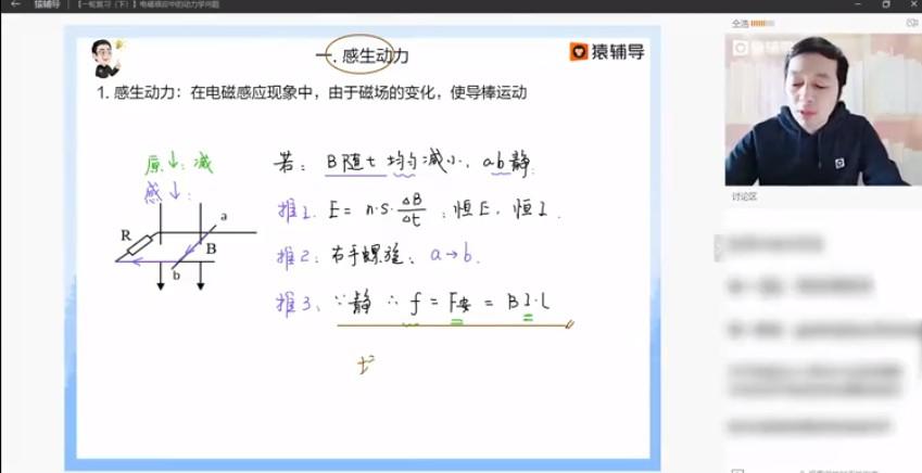 仝浩老师物理课程 视频截图