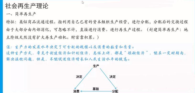 马宇轩老师高考政治核心知识精讲 视频截图